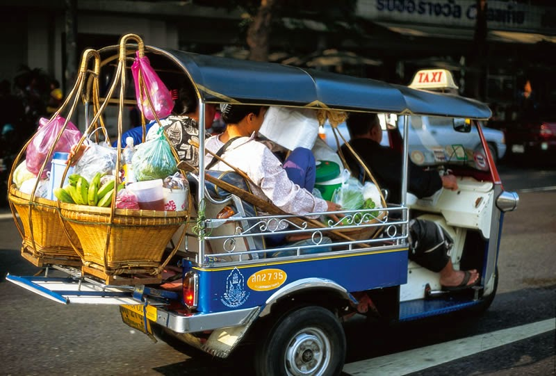 Voyager en Thaïlande - Informations pratiques - Songthaew