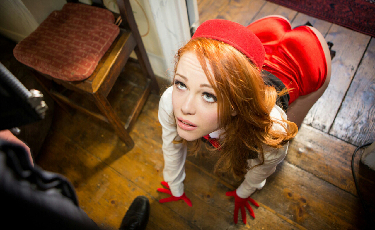Redhead Euro schoolgirl Ella Hughes having sex with female teacher   233829