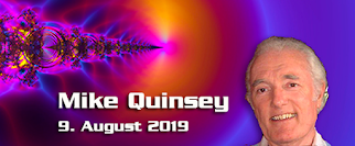 Mike Quinsey – 9. August 2019