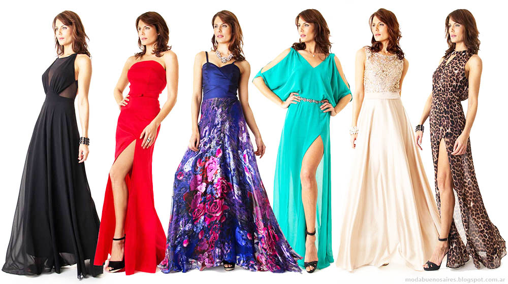 Vestidos de fiesta 2015 Verónica Far. Moda vestidos de fiesta 2015.