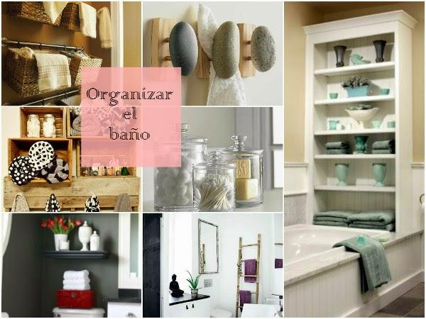 Ideas Organizar Baño: : Small&LowCost: Ideas prácticas para organizar el cuarto de baño