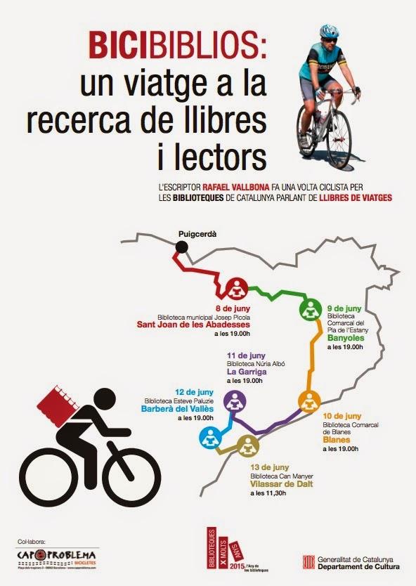 Volta ciclista a les biblioteques de Catalunya