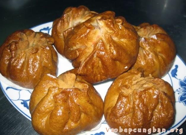 Cách làm bánh bao chiên