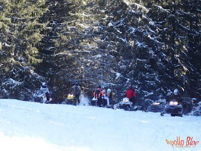 Snowmobil Bucin