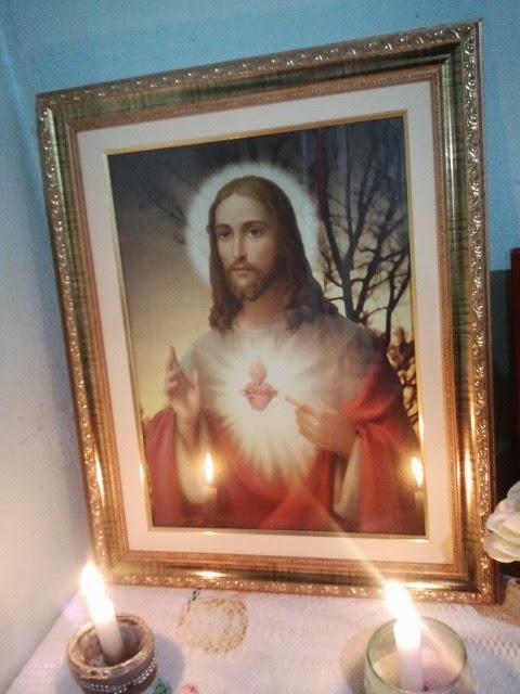 ENTRONIZAÇÃO DO SAGRADO CORAÇÃO DE JESUS