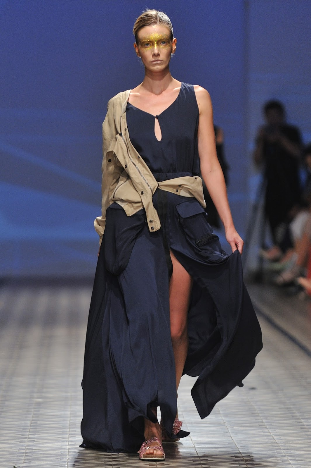 Andre kim fashion show 56