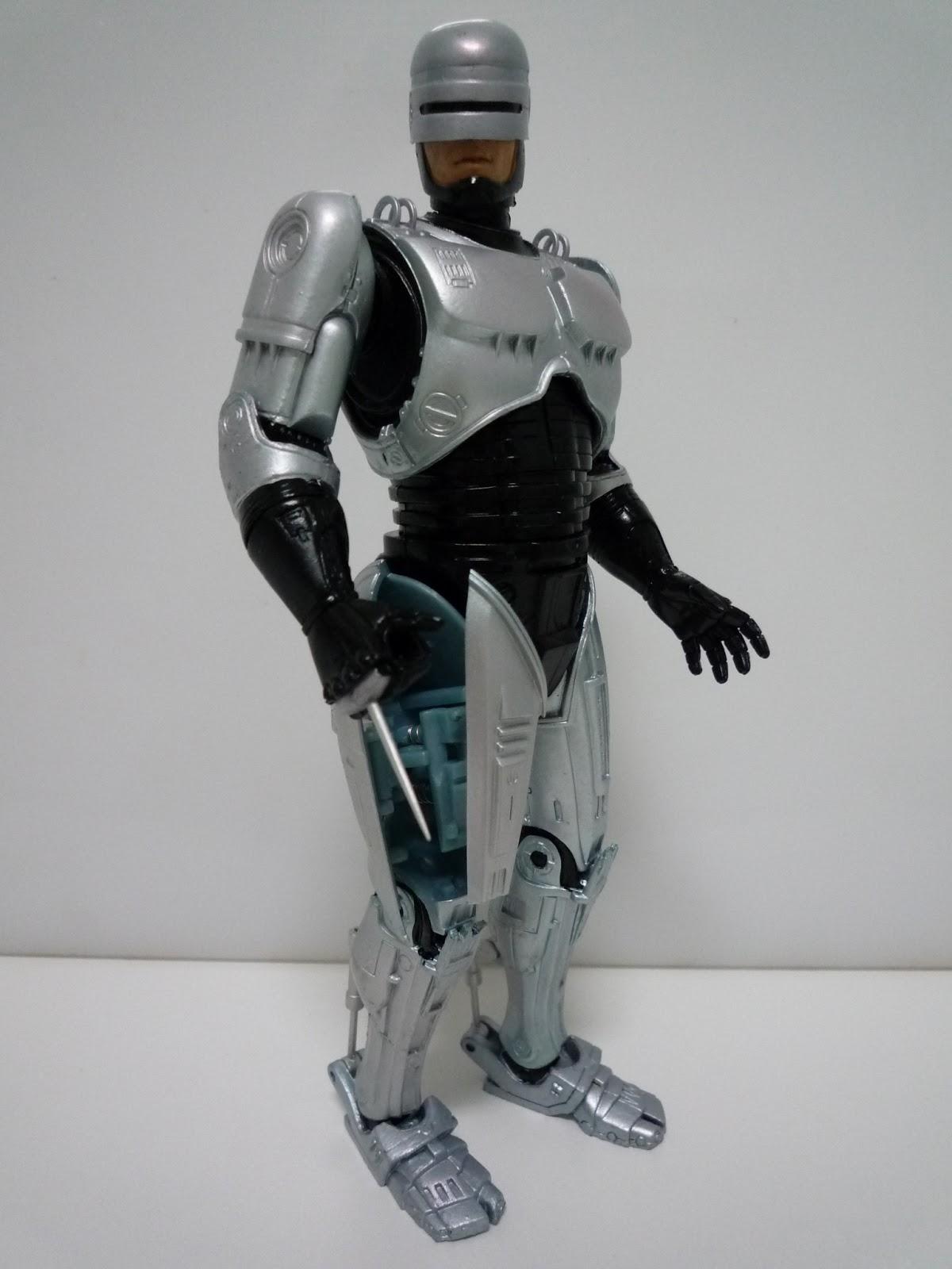 """NECA RoboCop Análisis del """"Spring Loaded Holster RoboCop"""" por"""