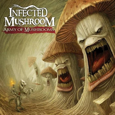 Infected Mushroom - Army of Mushrooms album front cover