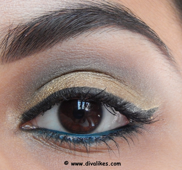 Traditional Golden Eye Makeup Tutorial Diva Likes