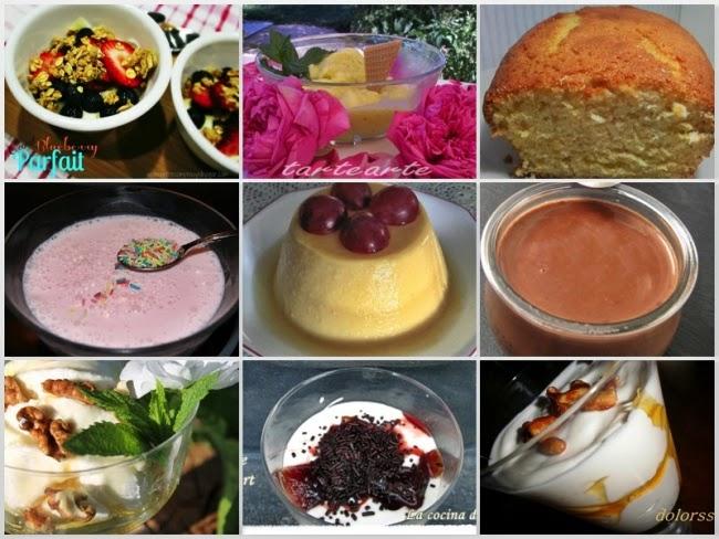 Postres con Yogur y Petit Suisse 2ª Parte