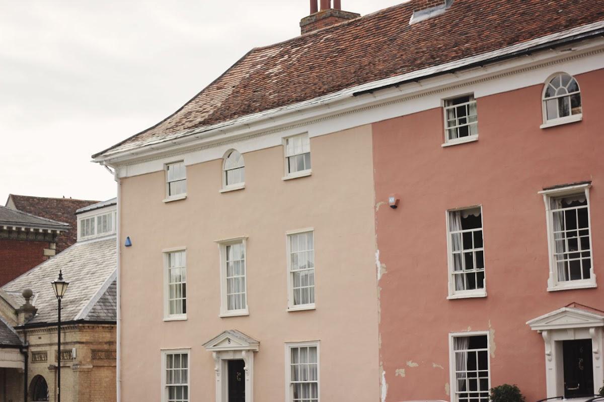 hadleigh suffolk pink houses
