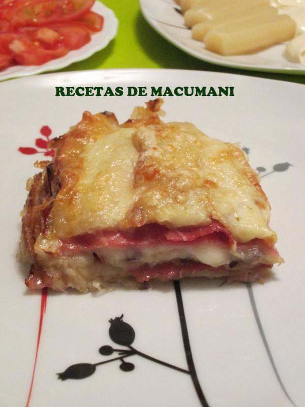 RECETAS DE MACUMANI