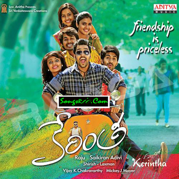 Kerintha (2015) Telugu Movie DVDScr 350MB