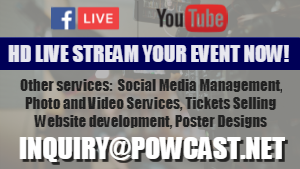 Powcast Livestream Solutions
