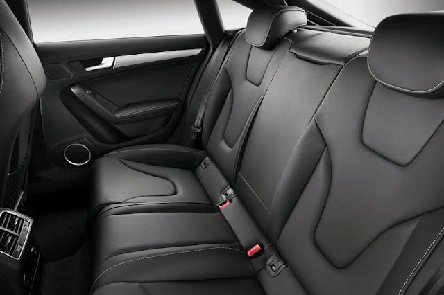2012 Audi S5 SportBack Back sit Interior