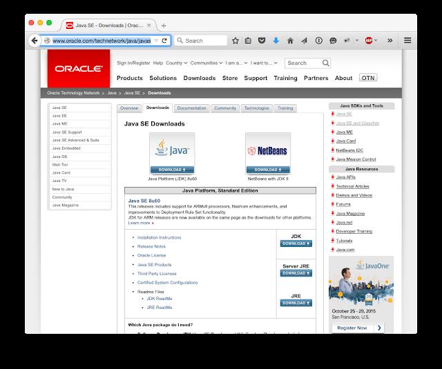 Tech Dweeb: Step by Step Install / Uninstall JDK 8 on OS X Yosemite