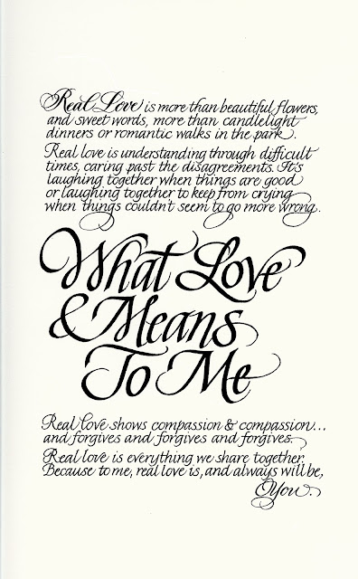 what love means to me essay