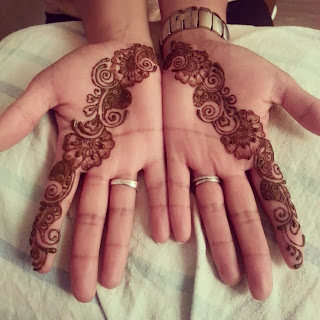 Girl Mehndi Design