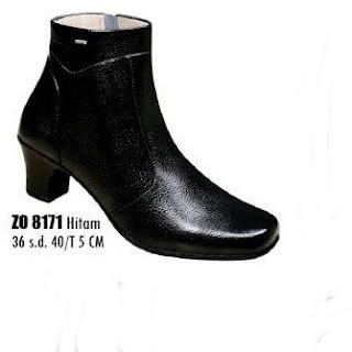 sepatu boots  wanita kulit -5 cm-275-ZO8171