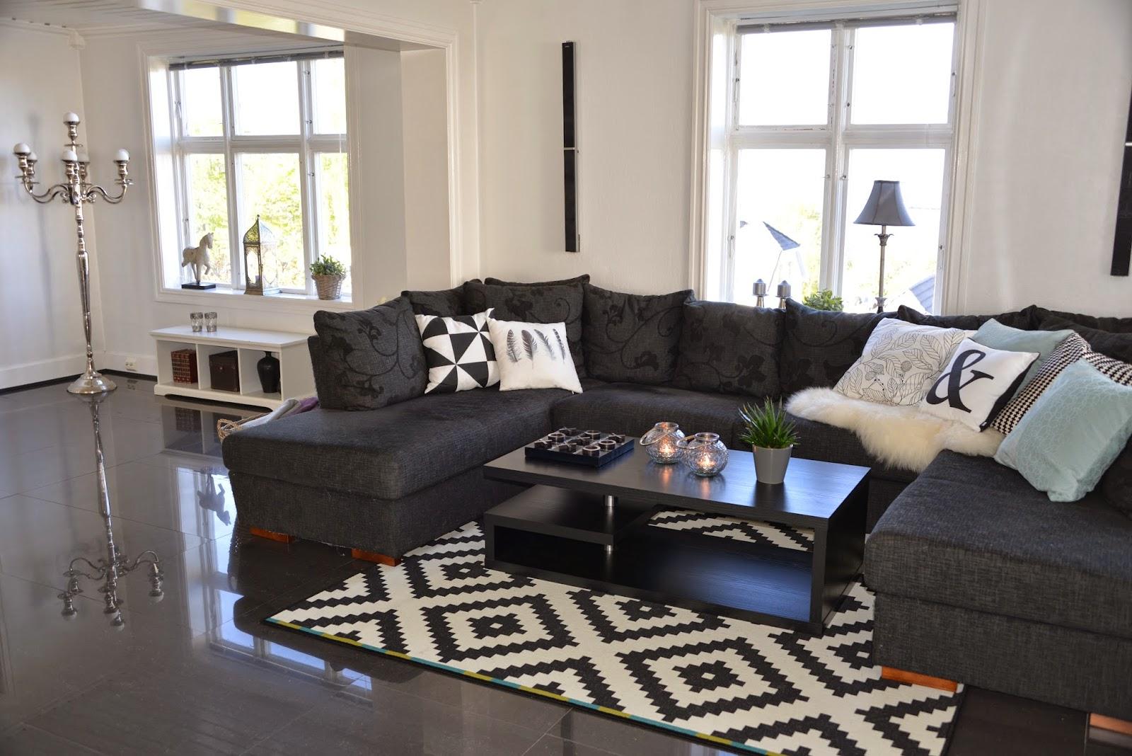 Inspira Interiør: Styling av stue i Sveitserhus