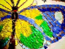 A transparência da borboleta