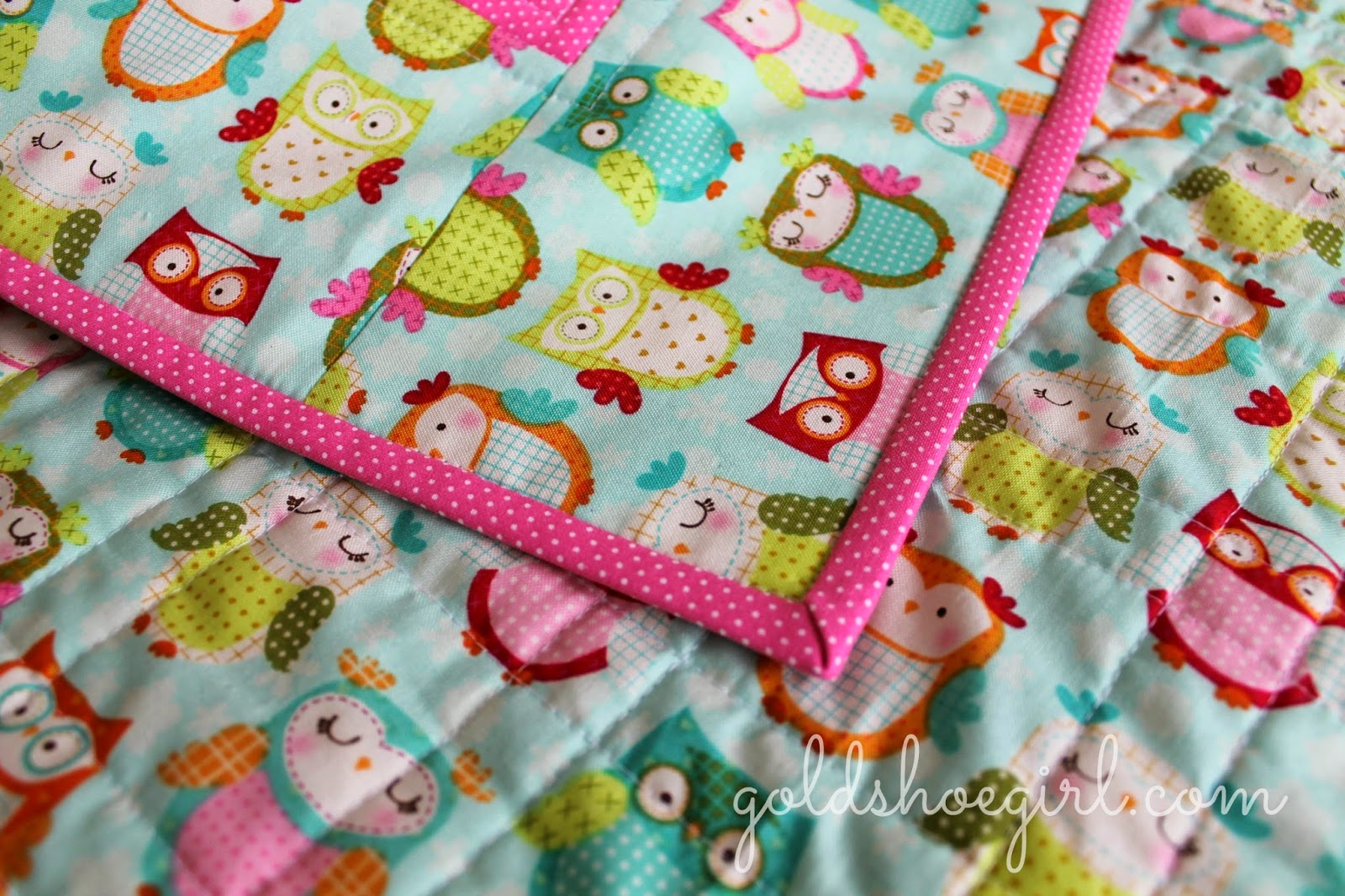 Gold Shoe Girl: Owl Quilts : baby quilting fabric - Adamdwight.com