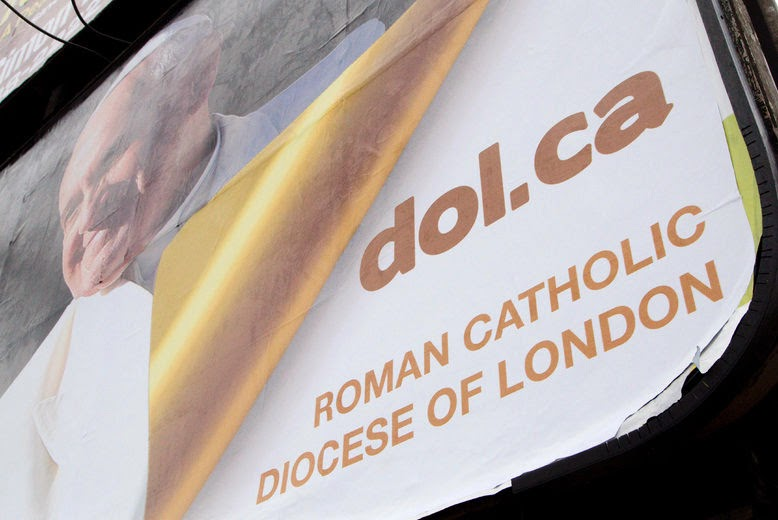 Roman Catholics in London start Pope Francis billboard campaign