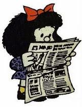 Los periódicos del día.