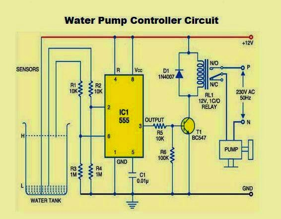 Water Pump Controller Circuit