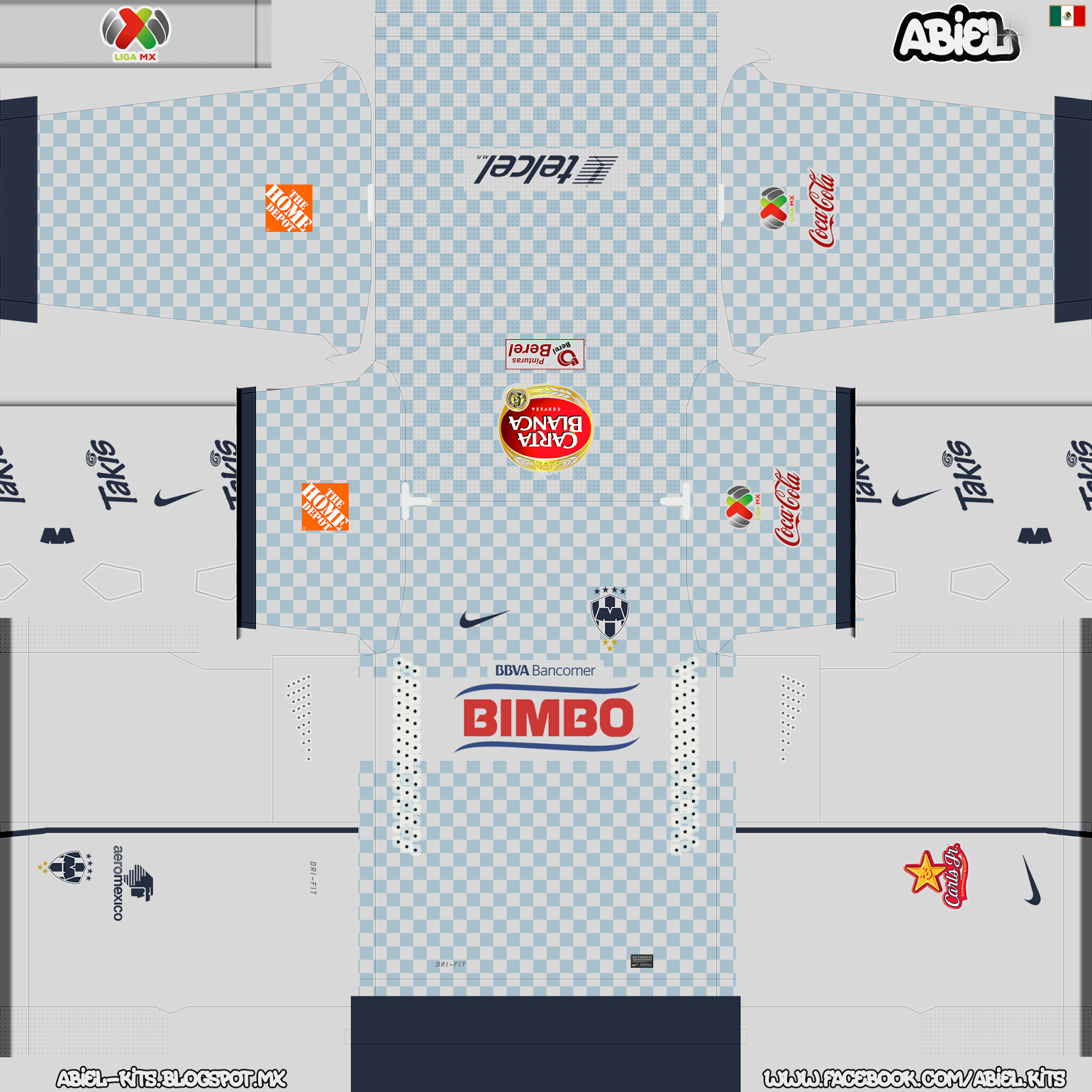 Monterrey FC Preview GBD HD to PES 2014 | ABIEL KITS