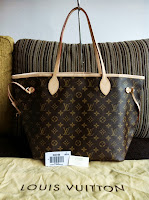 LV NEVERFULL MM MONOGRAM