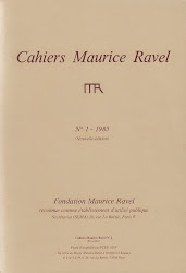 Cahiers Maurice Ravel : revue indispensable : 16 numéros publiés