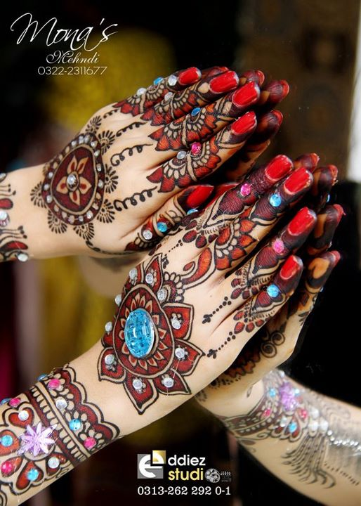 BridalmehndiwwwShe9blogspotcom2528202529 - Embroidered Mehndi