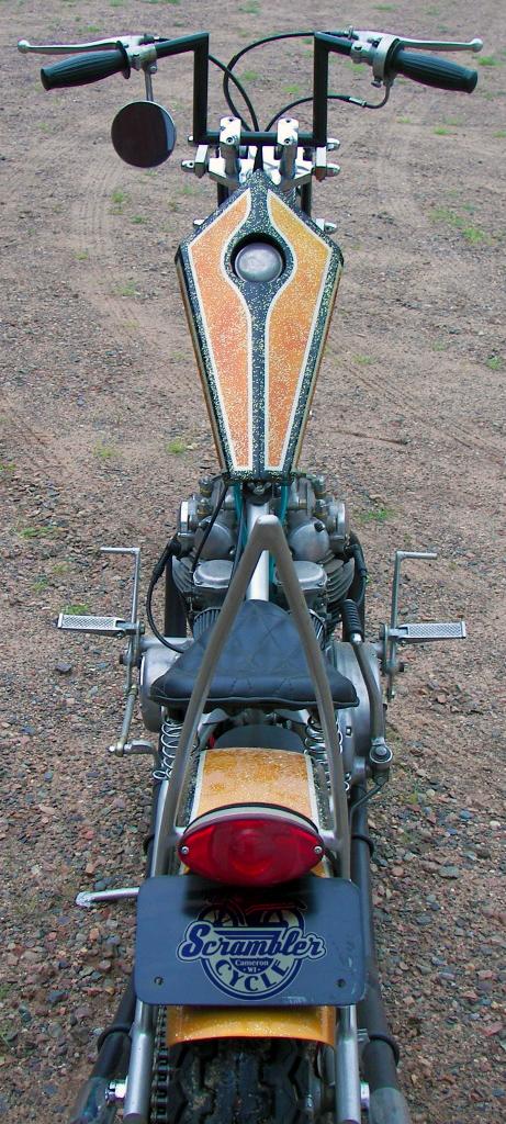 yamaha xs650 chopper - top | scrambler cycle, wisconsin