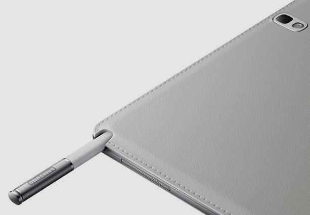 Desain Belakang Tablet Samsung Galaxy Note 10.1 2014 Edition