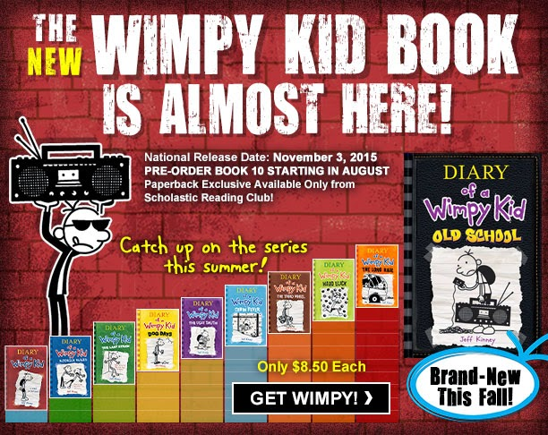 The write path april 2015 cover reveal diary of a wimpy kid 10 old school by jeff kinney solutioingenieria Gallery