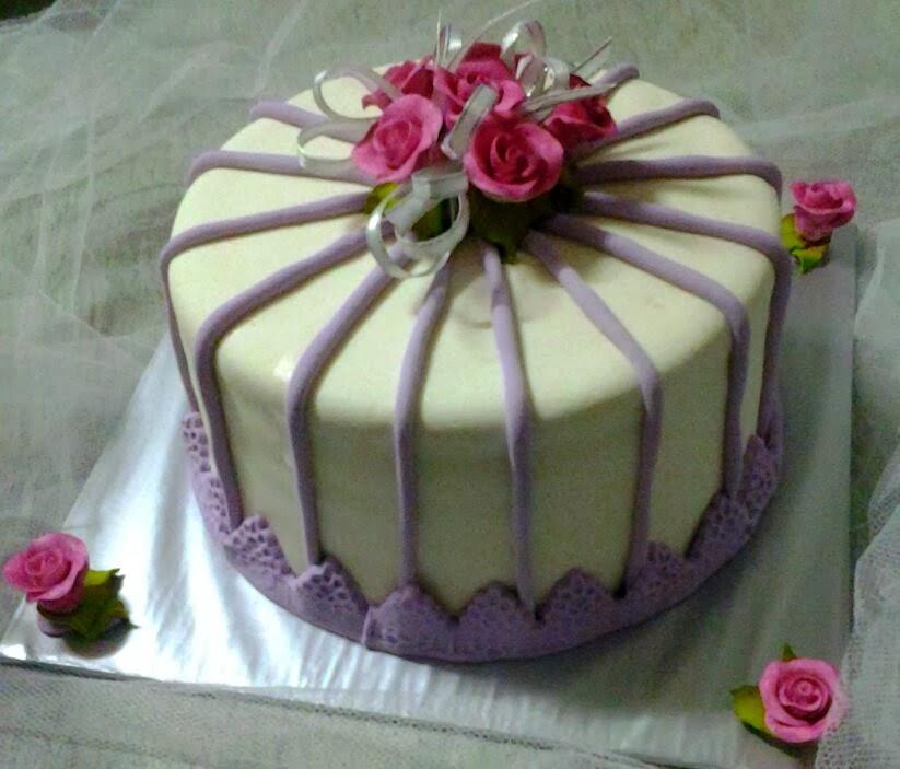 hantaran cake fondant