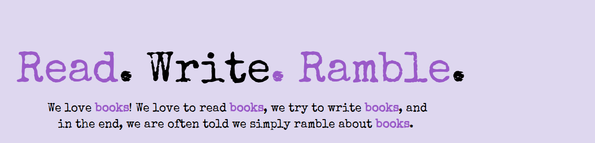 Read. Write. Ramble.