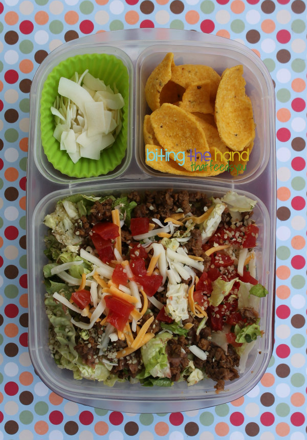 scoops chips dip lunch bento easylunchboxes vegetarian work school easy simple quick