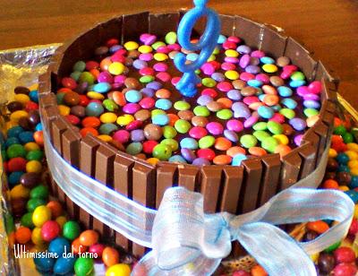 Torta Coloratissima Al Cioccolato Con Smarties