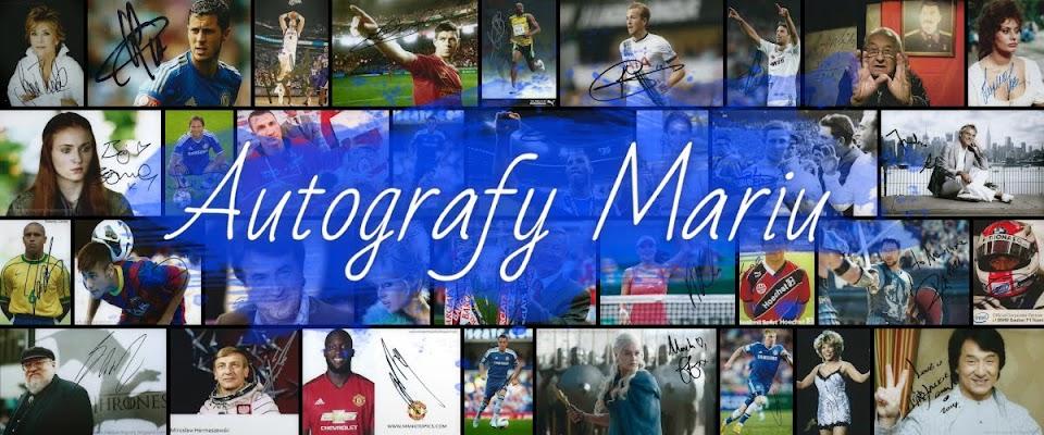 Autografy Mariu