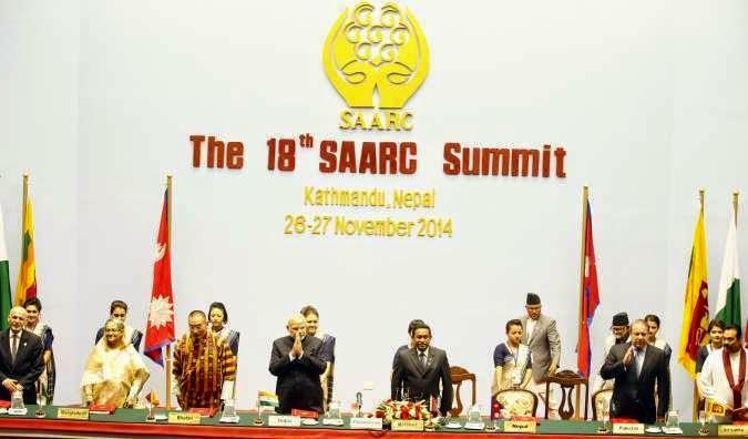saarc summit kathmandu nepal