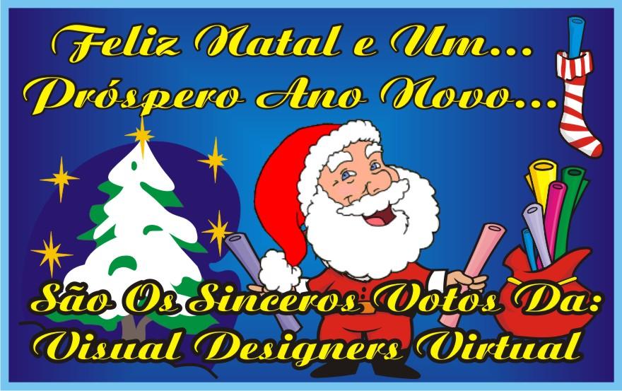 Felíz Natal e Um Próspero Ano Novo