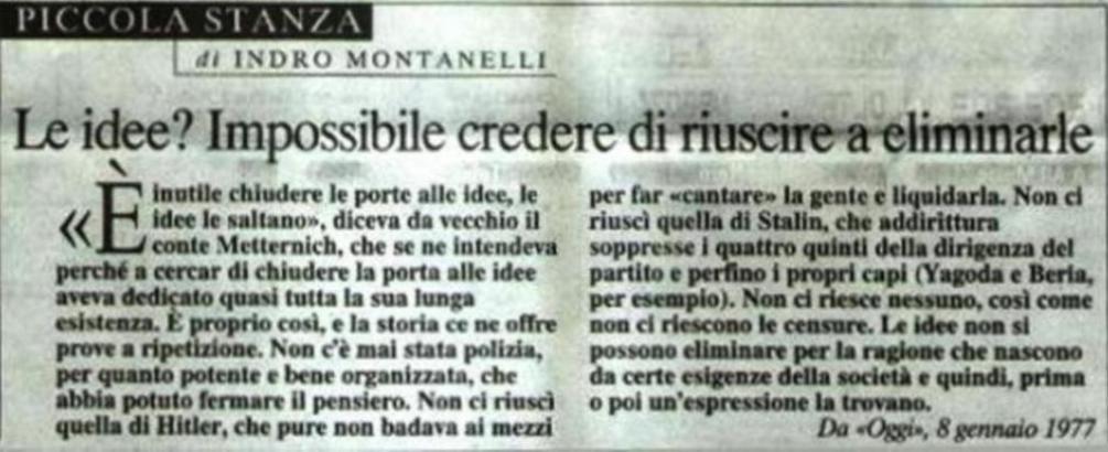 INUTILE  CERCARE  DI  FERMARE  LE  IDEE