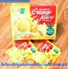 عصير سوبر سليم بطعم البرتقال