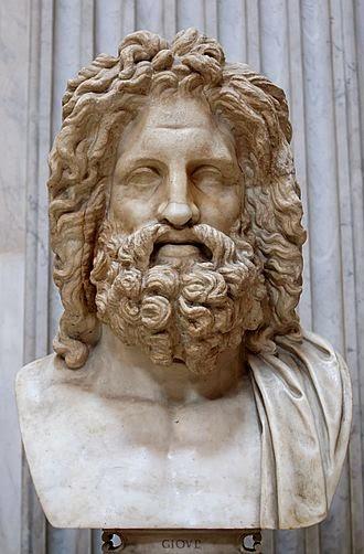 Δίας του Οτρίκολι. Μάρμαρο, ρωμαϊκό αντίγραφο από ένα ελληνικό πρωτότυπο του τέταρτου αιώνα π.Χ.