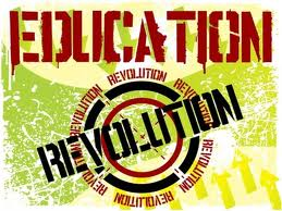 Image of Educational Revolution sign