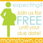 Join momstown For Free until your Due Date