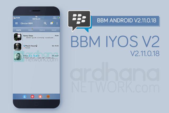 BBM Iyos V2 - BBM Android V2.11.0.18