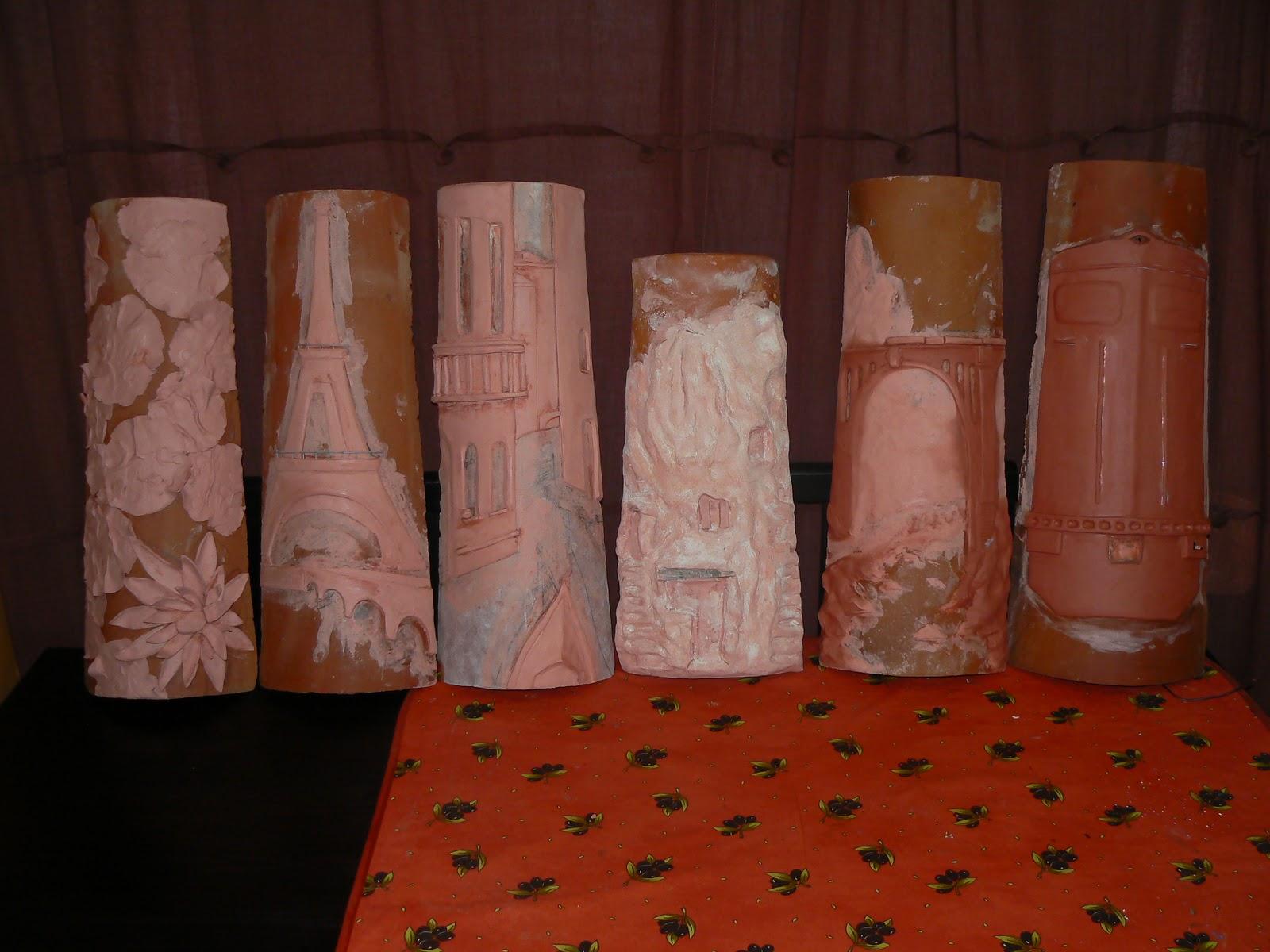 Ohayo tejas decoradas - Pintar tejas de barro ...